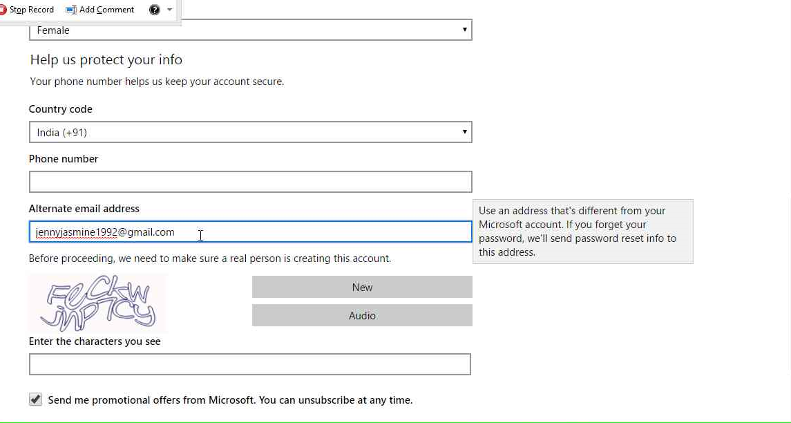 how to close hotmail account