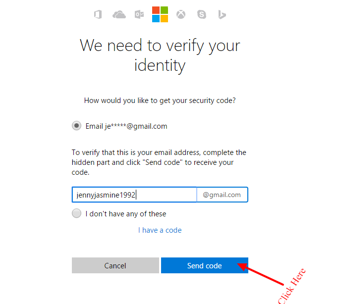 we-need-to-verify-your-identity-reset your hotmail password