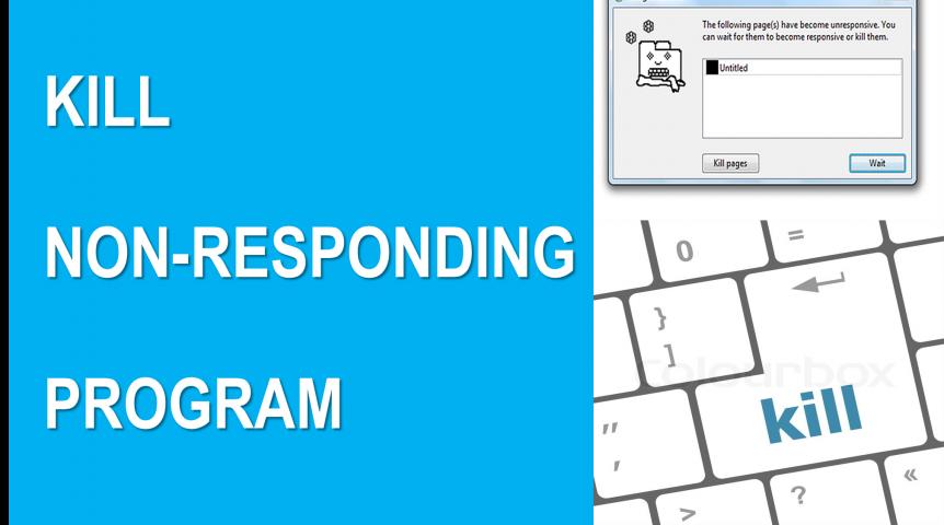 Not-responding-program