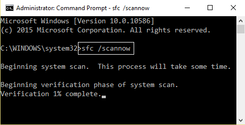 how to use sfc scannow on external drive