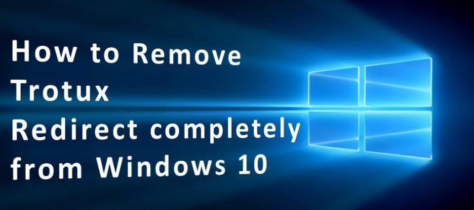 Remove Trotux