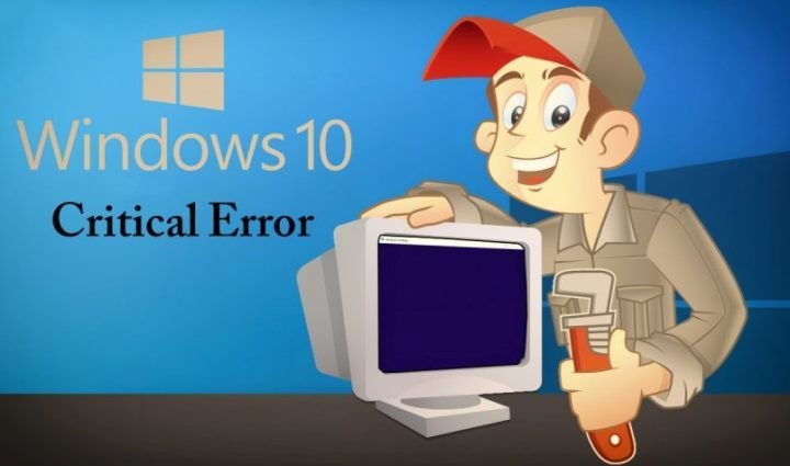how to fix windows 10 start button critical error