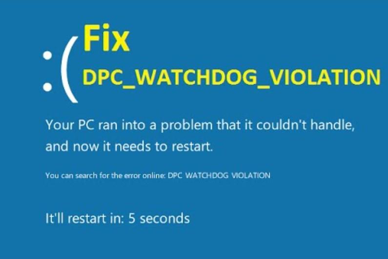 DPC watchdog Violation