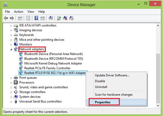 Network adapter driver-windows 10 issues with Wi-Fi