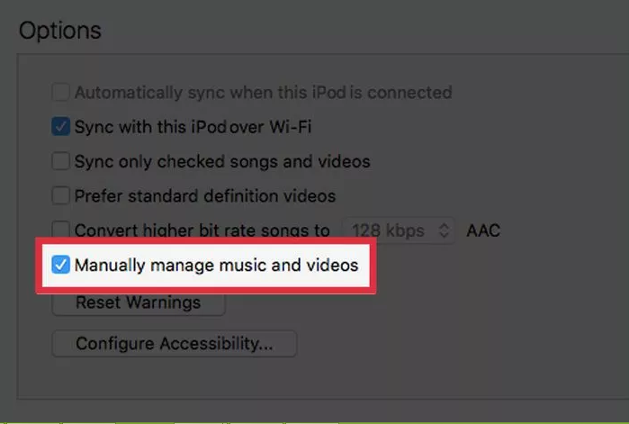 """Manually manage music and videos."""