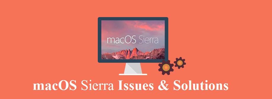 macOS Sierra Issue