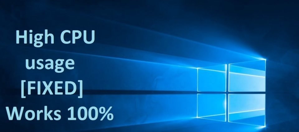 Quick Fix for Windows 10 Antimalware Service Executable High CPU Usage