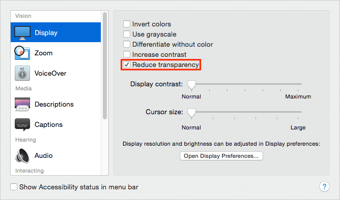 How to Reduce Transparency on Mac and Enhance Performance