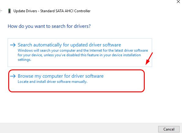 Update chipset driver