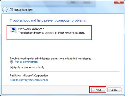 network troubleshooter-windows 10 issues with Wi-Fi