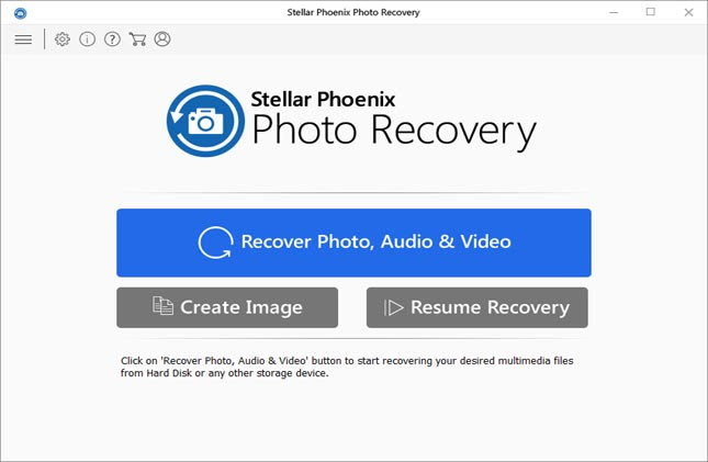 Stellar Phoenix photo recovery software for win