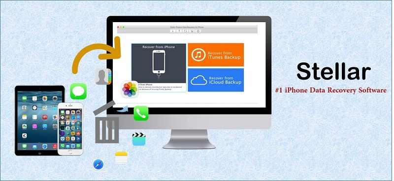 Stellar iPhone Data Recovery Software – Free Trial Download
