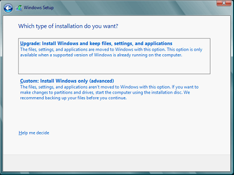 windows 10 custom installation