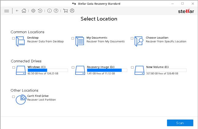 stellar recovery - windows 10 update error 0x800F081 fix