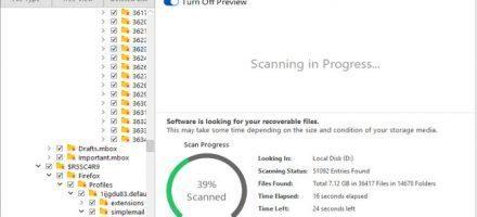 Stellar Data Recovery Professional Software