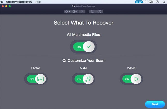 Canon Photo Recovery for Mac free step-1 - Canon Camera Errors and Fixes