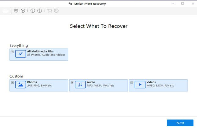 Canon Photo Recovery for Windows Step-1